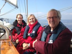 Sailing with family