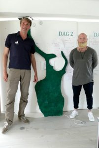 Ivar and Mads Hermansen at the Energy Academy