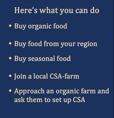 What you can do - CSA
