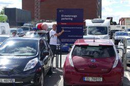 Electric car parking Oslo