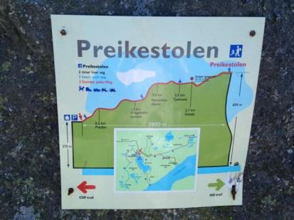 Our hike to Preikestolen