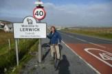 Shetlands cycling