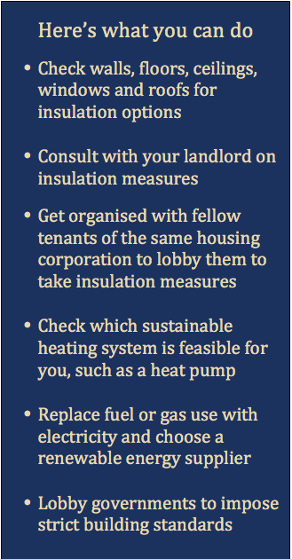 What you can do - Insulation