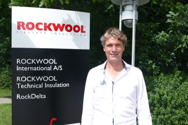 Ivar of Sailors for Sustainability at Rockwool