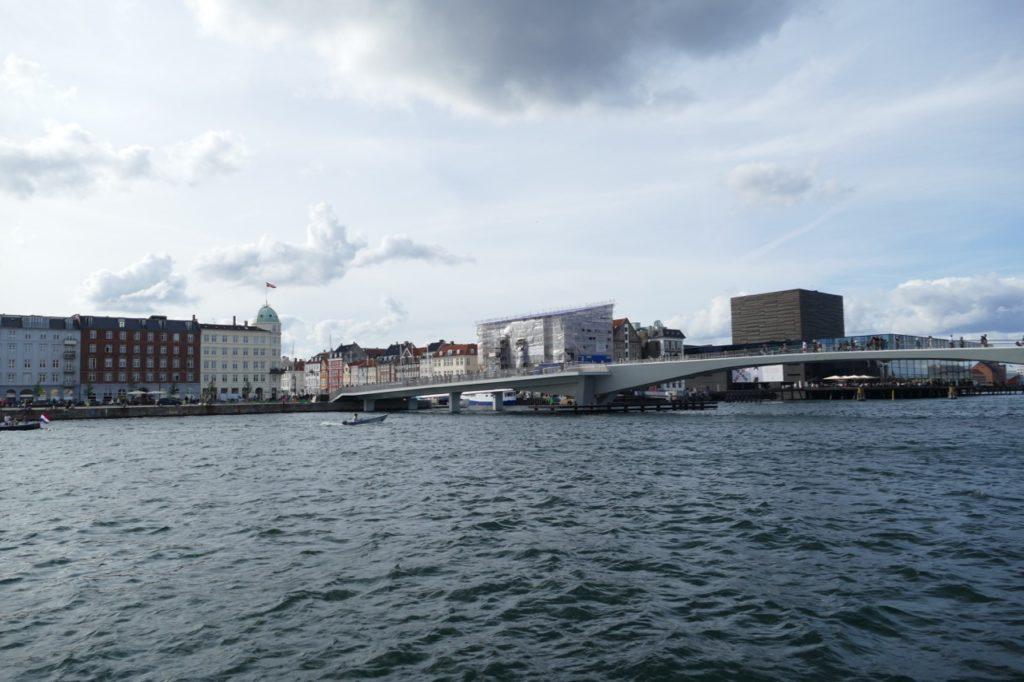 Copenhagen's new pedestrian/cyclist bridge