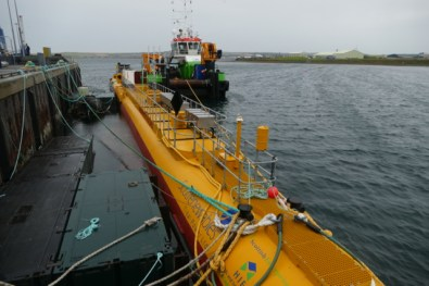 Orkney tidal energy central unit