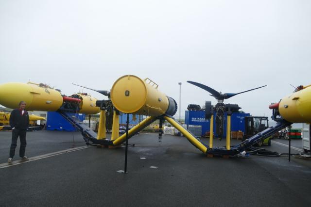 Orkney tidal energy turbine