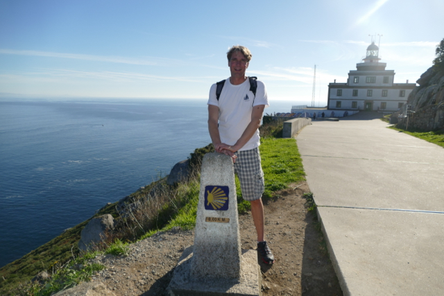 Finisterre is also the end of the St James way