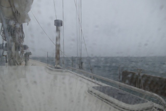 Low pressure passing by