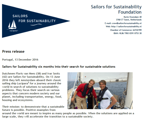 sailors-for-sustainability-six-months-press-release
