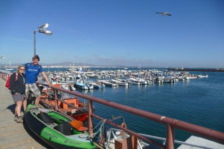 Culatra fishing harbour