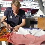 Floris repairing our national colours