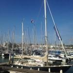 Luci in Lagos marina