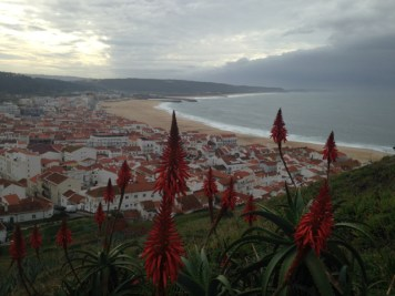 View on Nazaré