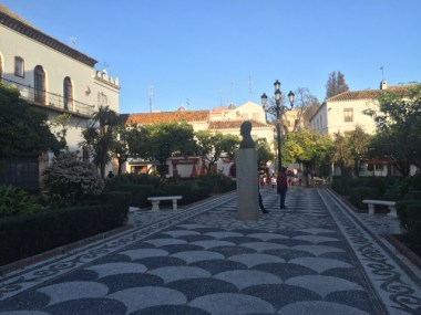 Marbella's charming historic center