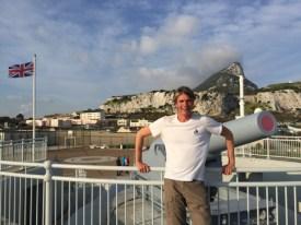 De-militarized zone of Gibraltar