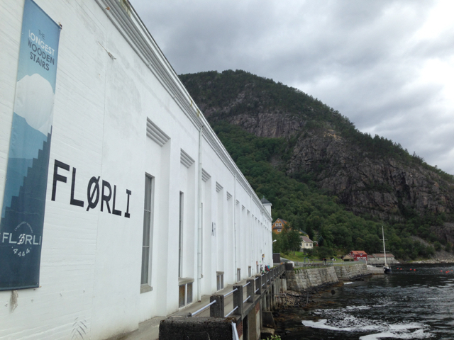 Flørli old hydropower station