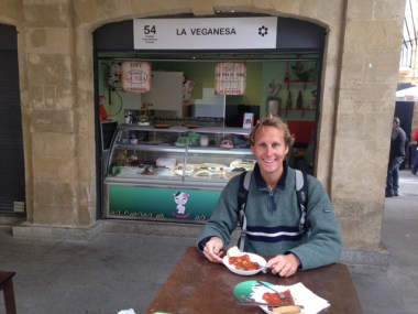 Cádiz market lunch