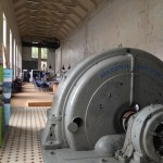 Turbine in Flørli old hydropower station