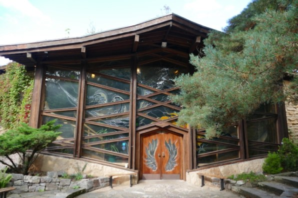 Community and conferencing centre in Ecovillage Findhorn