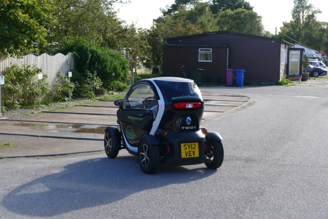 Ecovillage Findhorn electric car sharing program