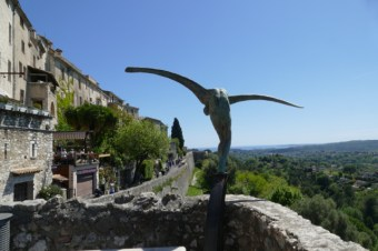 View from St Paul en Vence