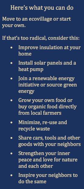 What You Can Do Ecovillage Findhorn