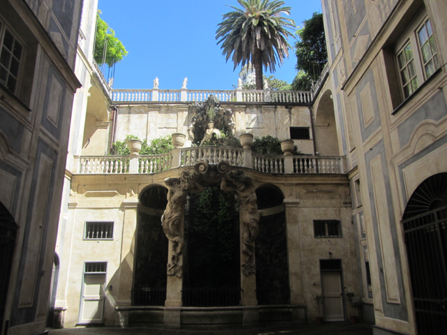 Genua palace wealth