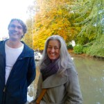 Polly and Ivar at Totnes harbour