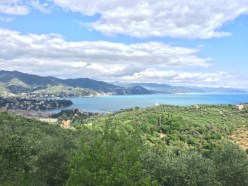 View from Portofino national park
