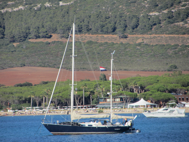 Luci in the bay of Porto Conte