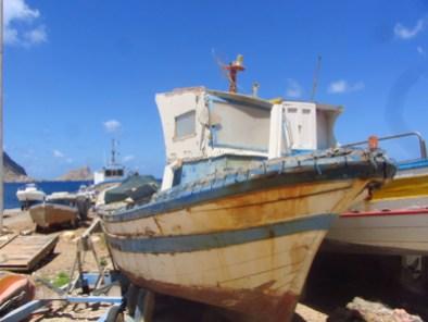 Marettimo fishing boats