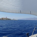 Sailing the Straight of Messina