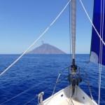 Sailing to Stromboli