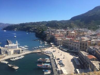View from Lipari