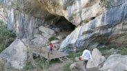 Pellumbas Cave entrance