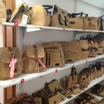 Creative handbags with cork