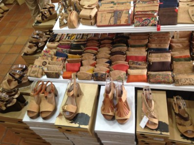 Creative shoes with cork