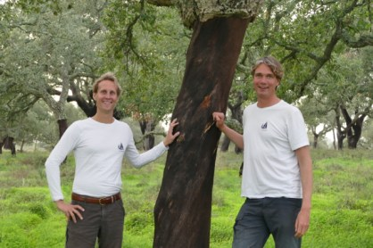 Floris, Ivar and a cork oak