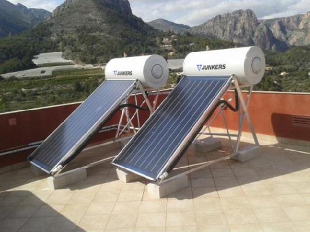 Rooftop solar boilers