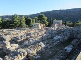 Knossos excavations