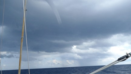 Waterspout coming our way