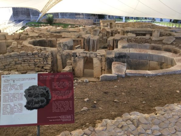 Ancient Tarxien temples