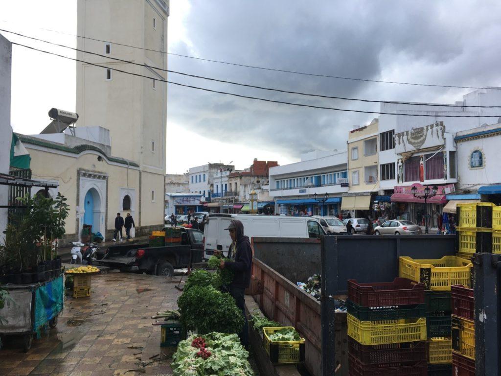 Bizerte street market