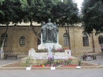 Malta journalist memorial