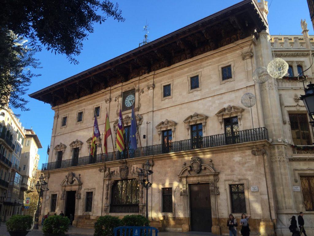Palma city centre