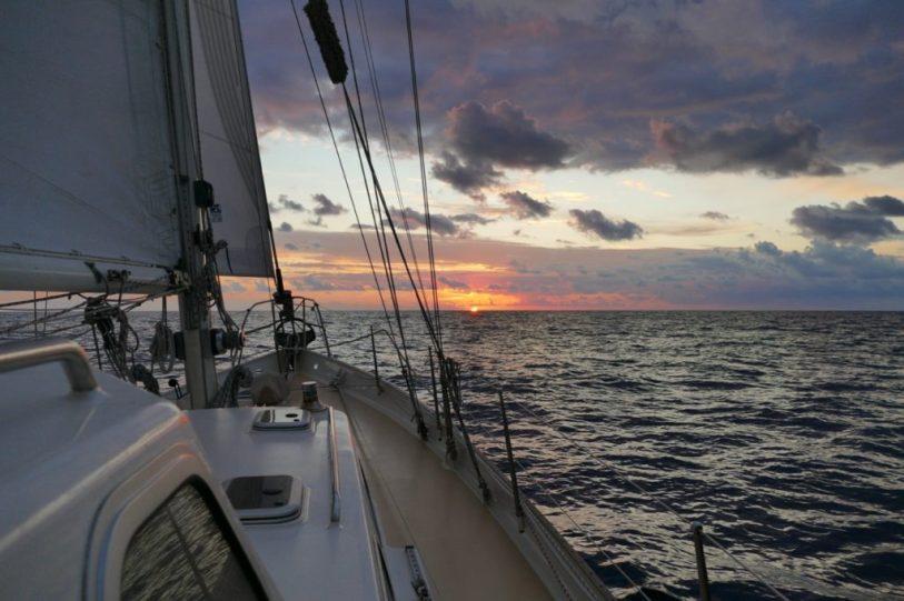 Sailing West