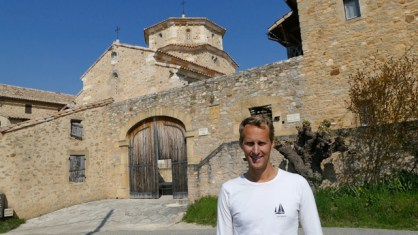 At the Solan Monastery
