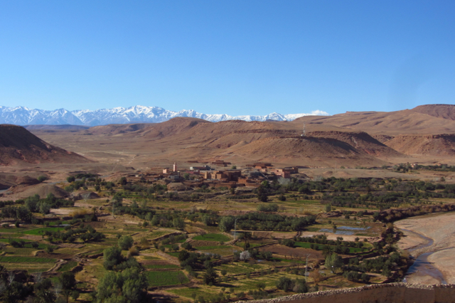 Stunning views on the Atlas mountains