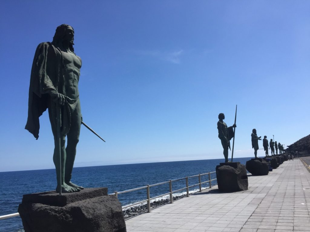 Memorial for indigenous Guanches people